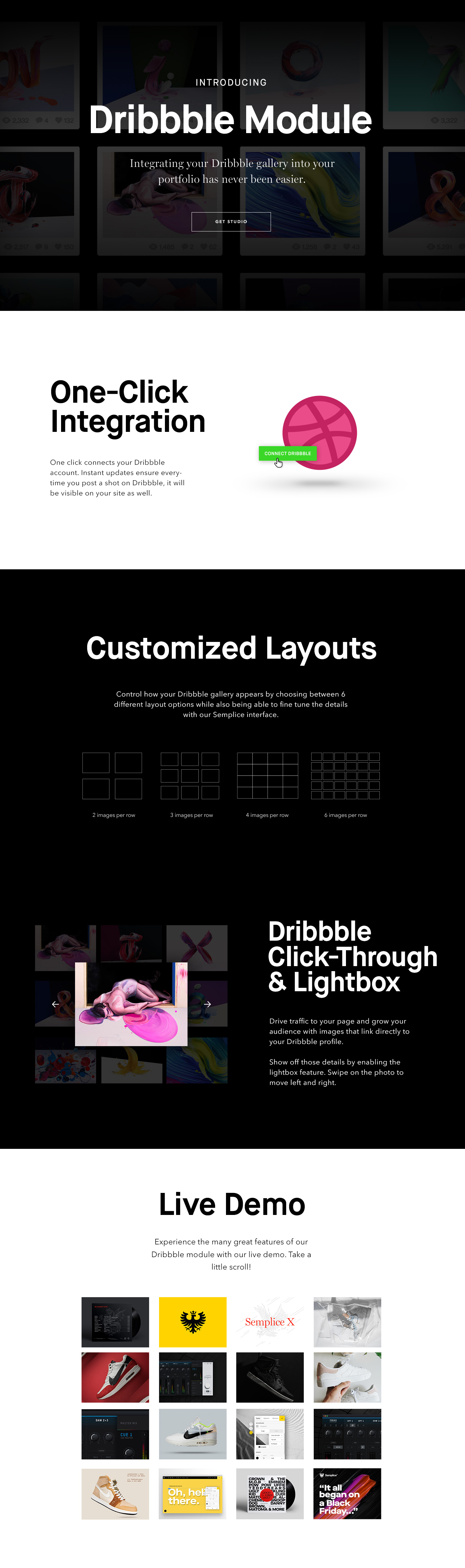 Dribbble-Full-Page