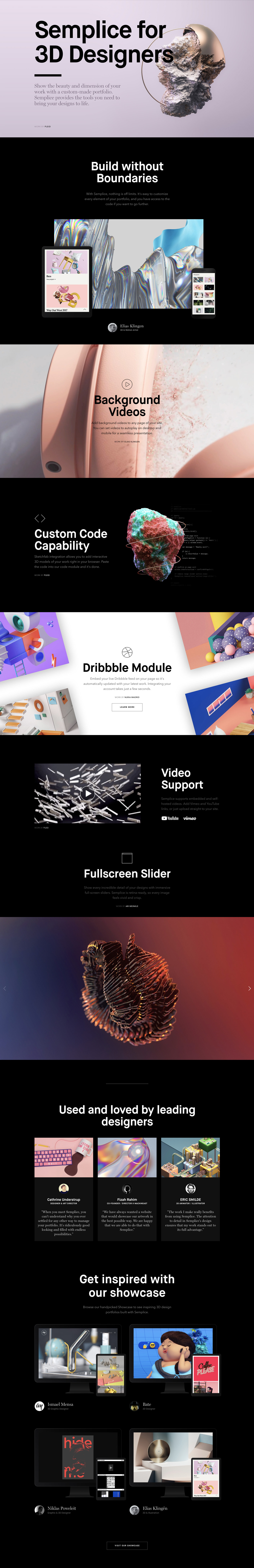 Semplice-for-3D-Designers Full Page